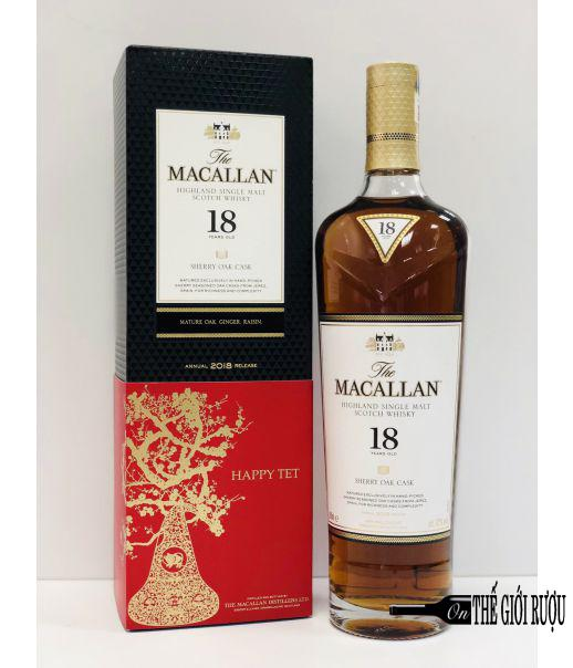 MACALLAN 18 YO SHERRY OAK 70CL