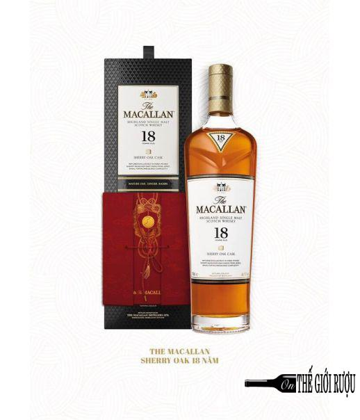MACALLAN 18 YO SHERRY OAK 70CL HQ 2019