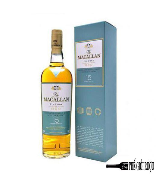 MACALLAN 15 YO FINE OAK