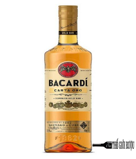 BACARDI SUPERIOR CARTA ORO GOLD RUM